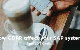 How GDPR affect your SAP systems