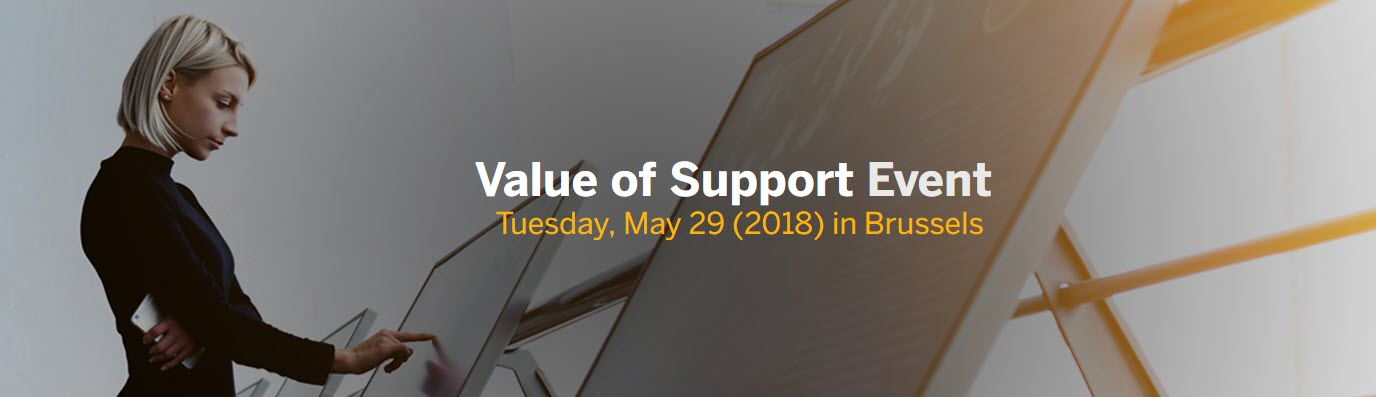 Value of Support event