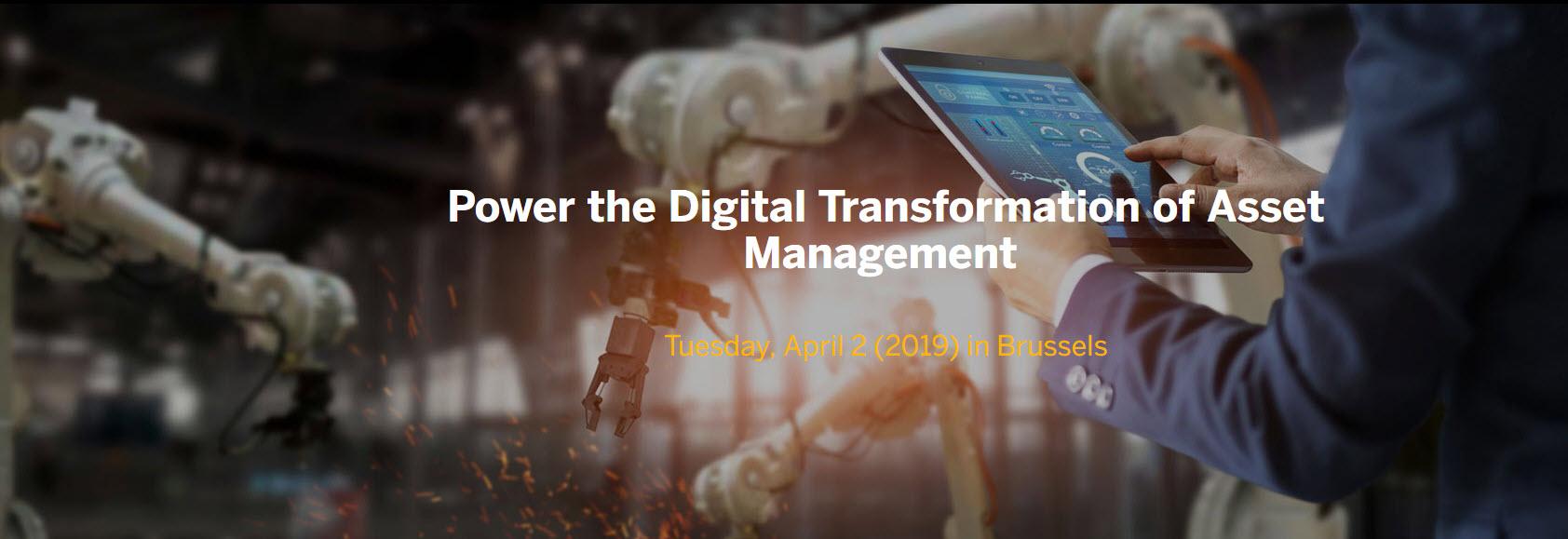 Power the Digital Transformation of Asset Management