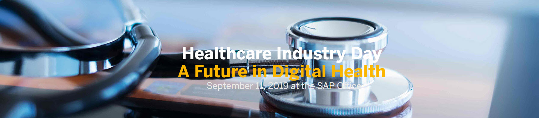 Healthcare Industry Day - A Future in Digital Health