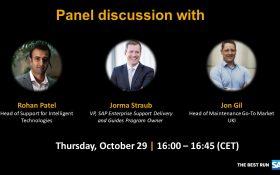 SAP webinar: Panel Discussion