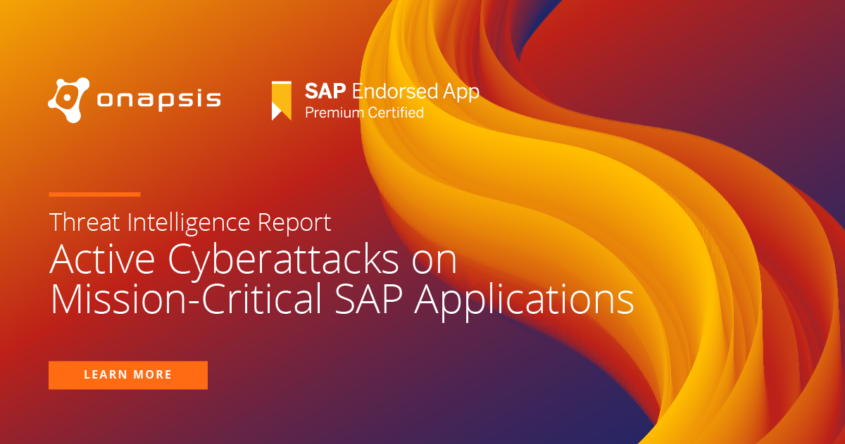 SAP and Onapsis proactively notify customers on active cyber threats